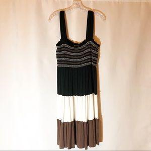 Spense Black/Brown Sun Dress
